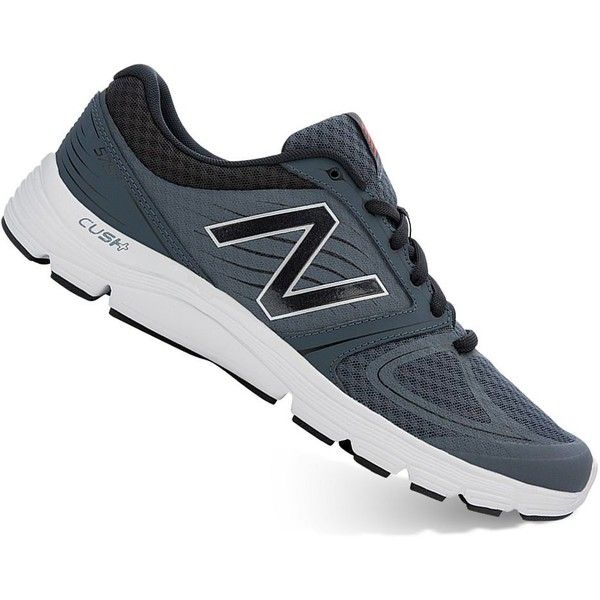 New Balance 575 Cush+ Women's Running Shoes ($40) ❤ liked on Polyvore featuring shoes, athletic shoes, grey other, grey running shoes, traction shoes, athletic running shoes, new balance footwear and lace up shoes