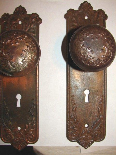 Doorknobs Robinson S Antique Hardware Brass Iron Door Knobs
