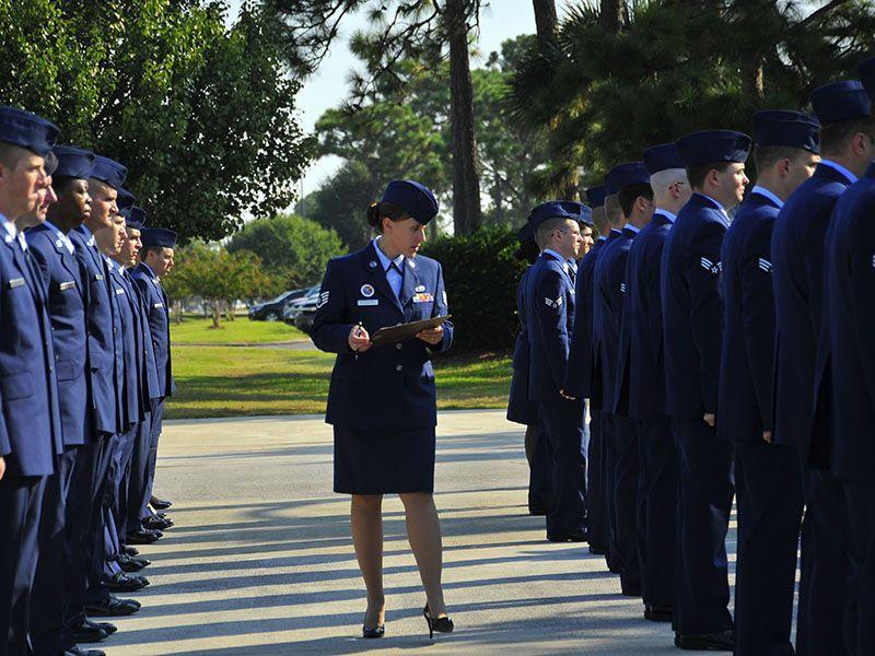 U.S. Air Force Staff Sgt. Paige Rudderforth, Vincent ...