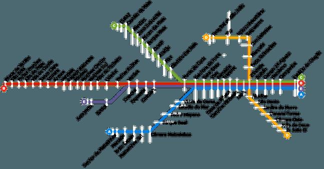 Metro De Oporto Mapa.Como Ir Del Aeropuerto De Oporto Al Centro Mueroporviajar Oporto Mapa Del Metro Plano Metro