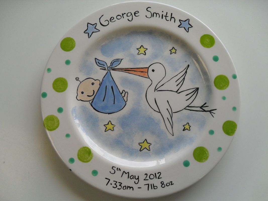 Personalised ceramic plates clay and play paint your own pottery personalised ceramic plates clay and play paint your own pottery shop negle Gallery