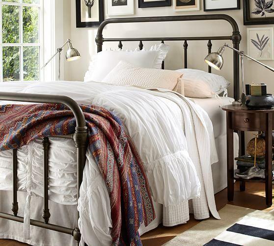 Coleman Metal Bed, Twin, Deep Bronze finish   Master bedroom ideas ...