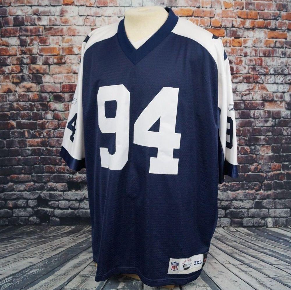DeMarcus Ware Dallas Cowboys Jersey Sewn Authentic NFL Reebok Throwback  Mens 3XL  Reebok  DallasCowboys 0f09856bf