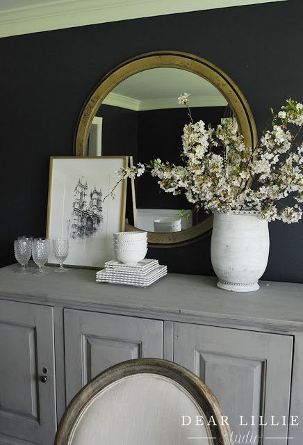 Dear Lillie: Apple Blossoms in the Dining Room and Some New Architectural Prints