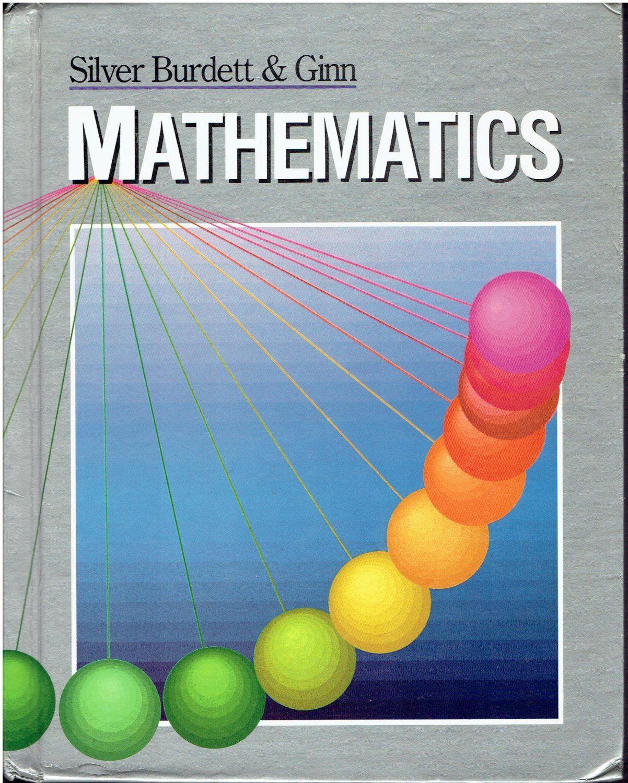 Silver Burdette Ginn Mathematics 7 7th grade middle school math book ...