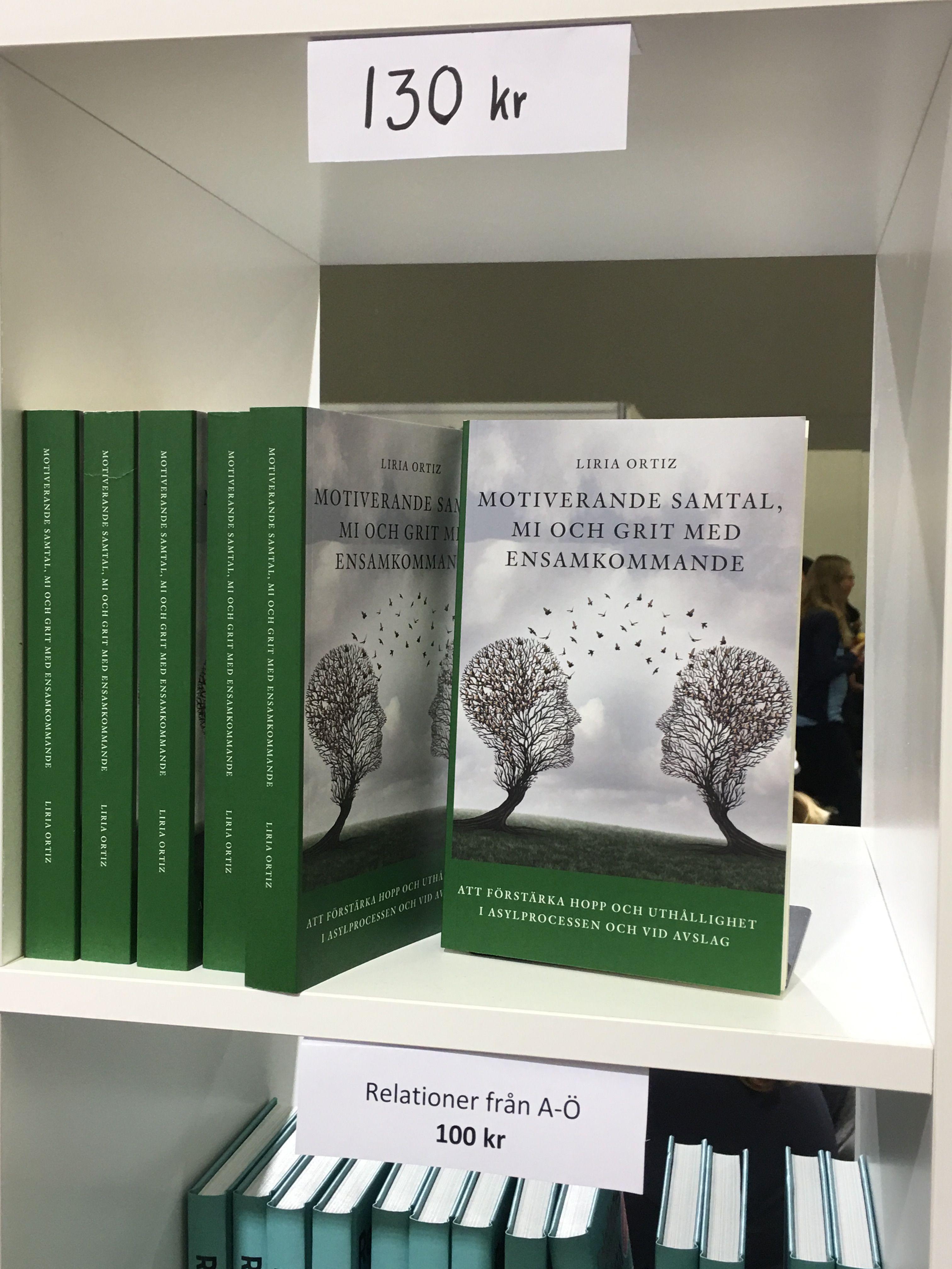 Finns du på Bokmässan och vill få min bok gratis? Kom till Psykologiscenen C-hallen 05:31. Det finns 6 exemplar kvar!