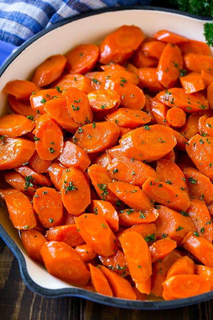 Glazed Carrots - Dinner at the Zoo