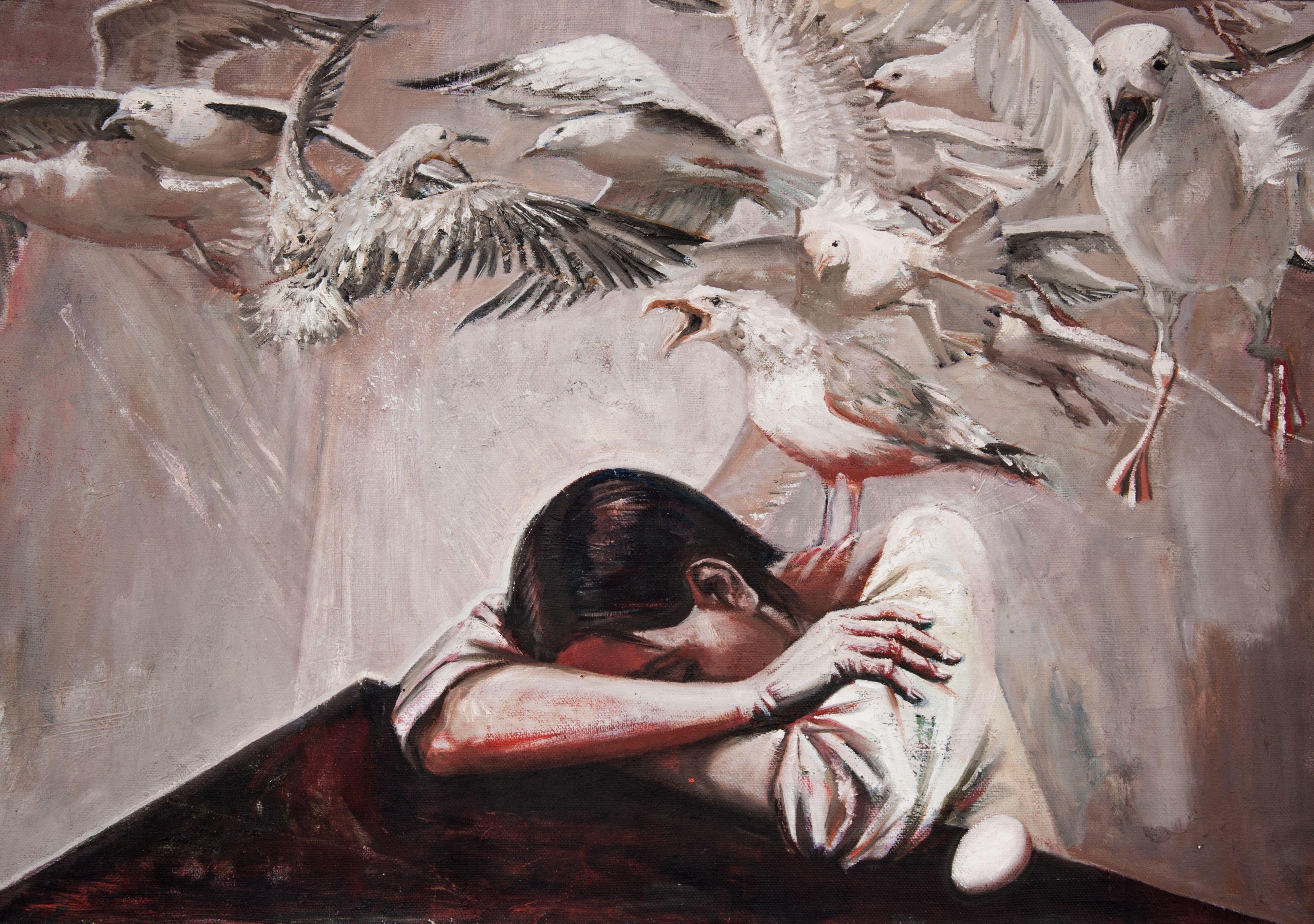 поныне отчаяние в картинах художников инстаграм маллинз призналась
