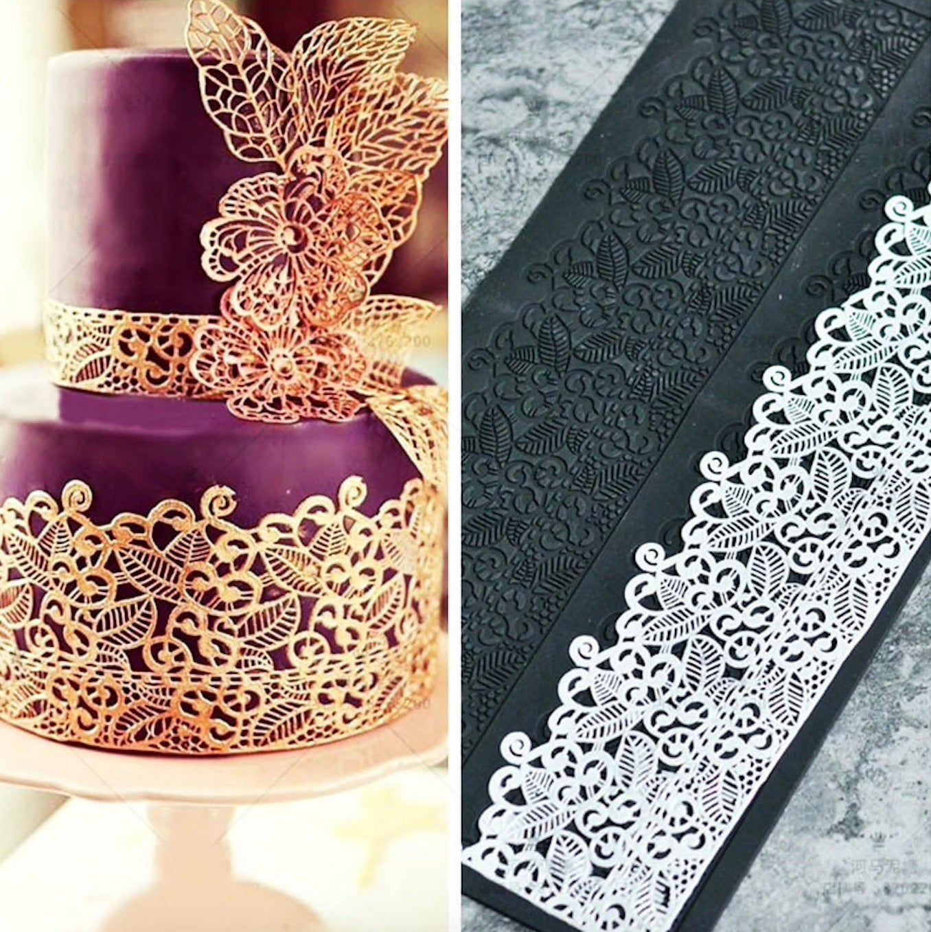 35++ Fondant lace molds for wedding cakes ideas in 2021