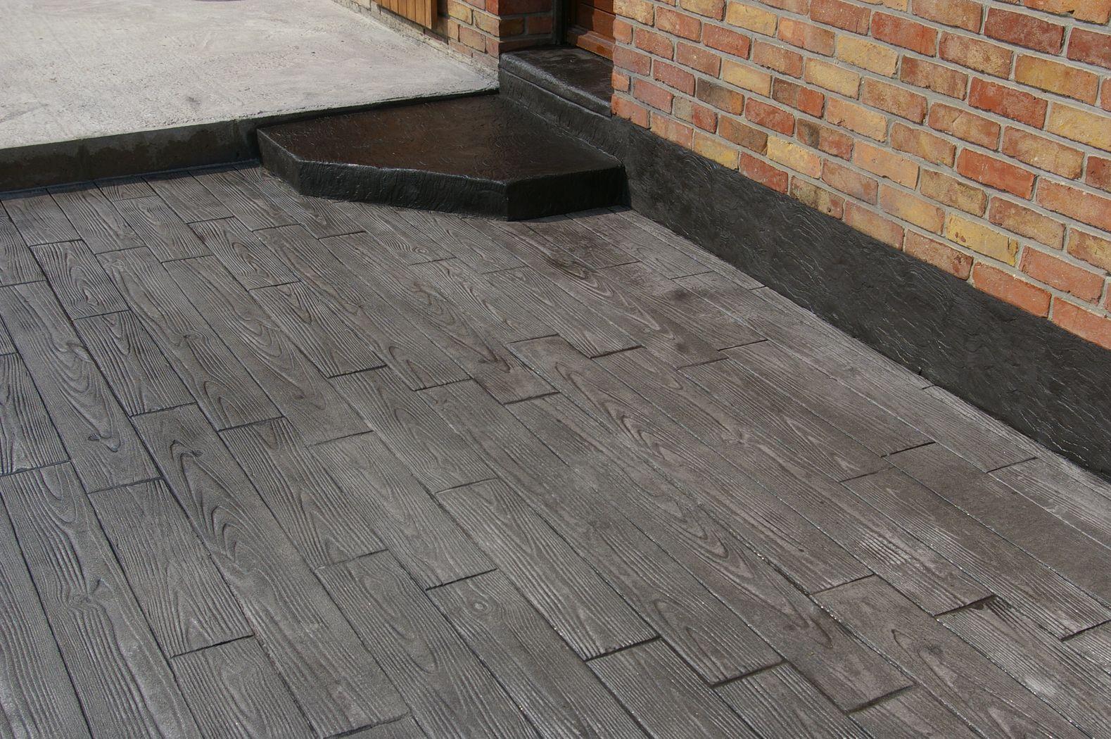 trendy bton imprim with dalle beton colore exterieur. Black Bedroom Furniture Sets. Home Design Ideas
