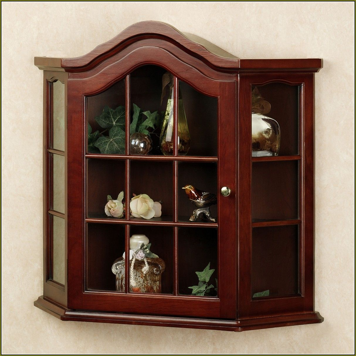 Wall mounted curio cabinet with glass doors httpbetdaffaires wall mounted curio cabinet with glass doors planetlyrics Choice Image