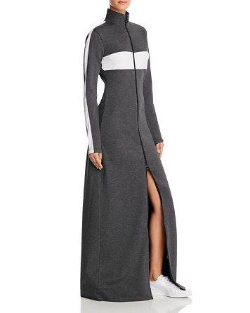 save off 08b90 28496 FENTY Puma x Rihanna Mock Neck Zip Maxi Dress ...
