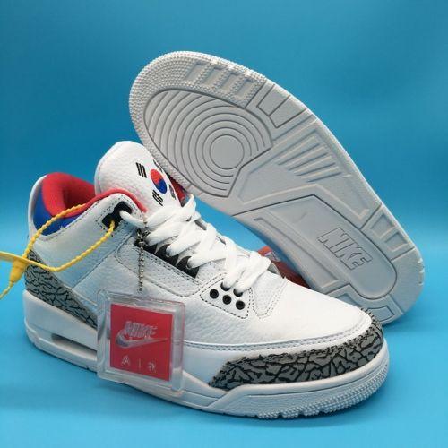 sports shoes 9d67c e4590 Discount Air Jordan 3 Seoul White Soar-Atom Red - Mysecretshoes