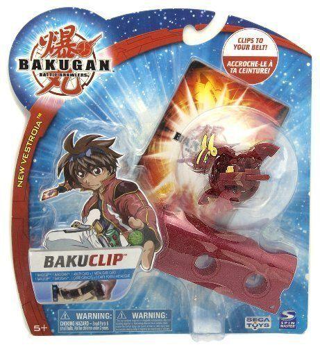 Bakuclip Bakugan Battle Brawler New Vestroia Bakuclip Pack Pyrus