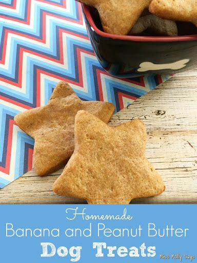 Homemade Banana And Peanut Butter Dog Treats Recipe Peanut