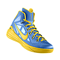 outlet store 7adfe adf5f I designed the university blue Nike Hyperdunk 2014 iD men s basketball shoe  with tour yellow trim.