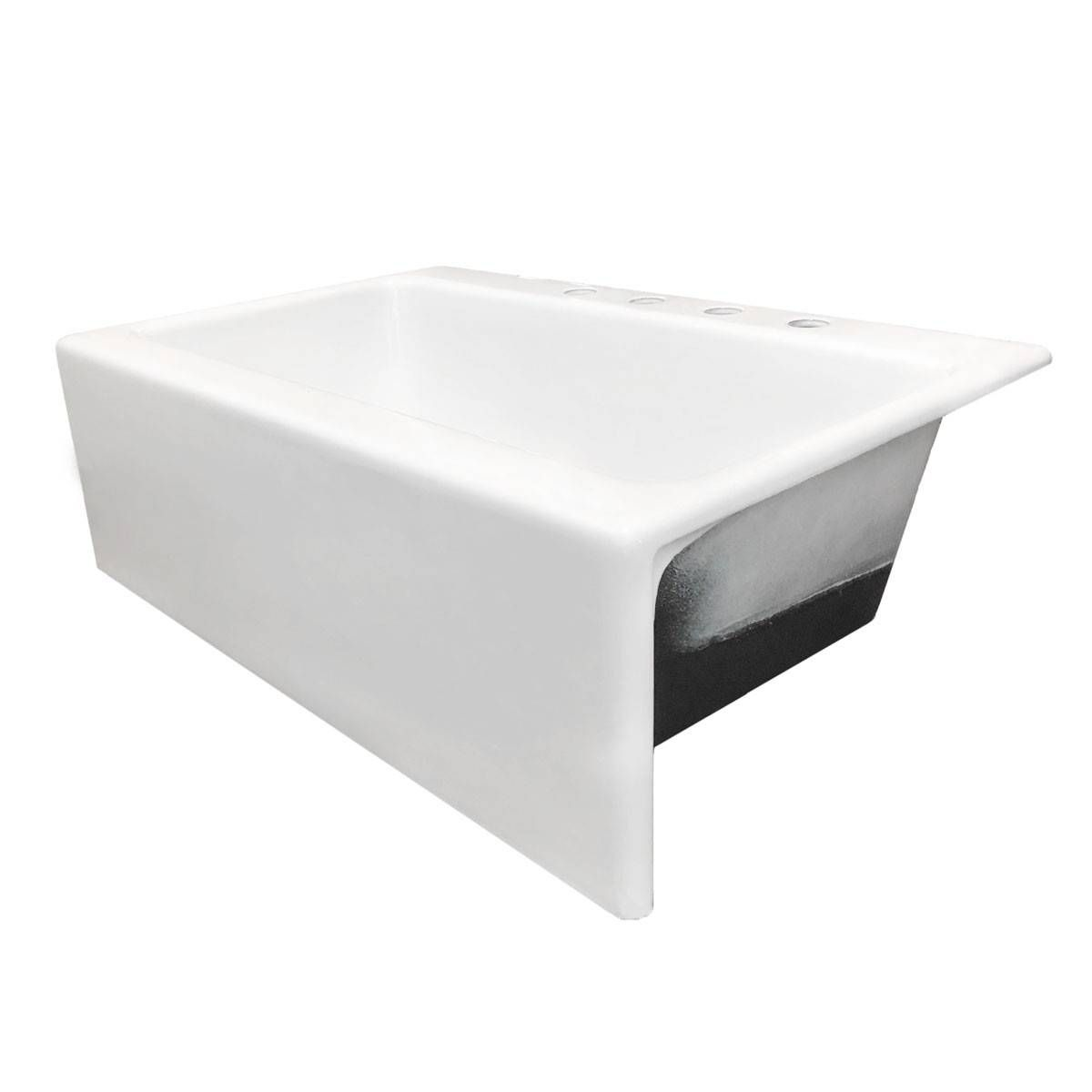 33 Inch Drop In Cast Iron Farmhouse Kitchen Sink In 2020 Farmhouse Sink Kitchen Cast Iron Kitchen Sinks Sink