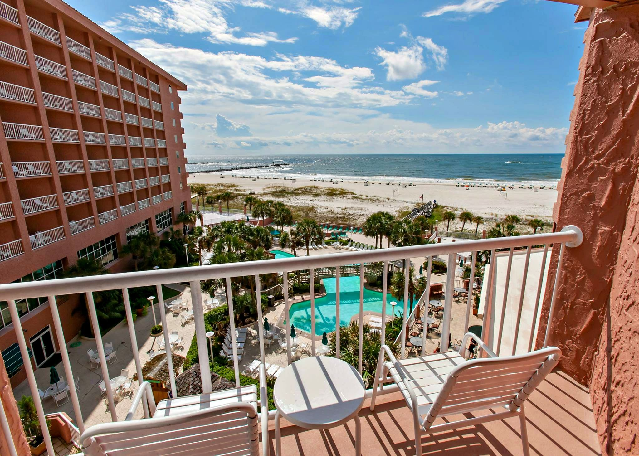 Balcony View At The Perdido Beach Resort In Orange This Was Our Except We
