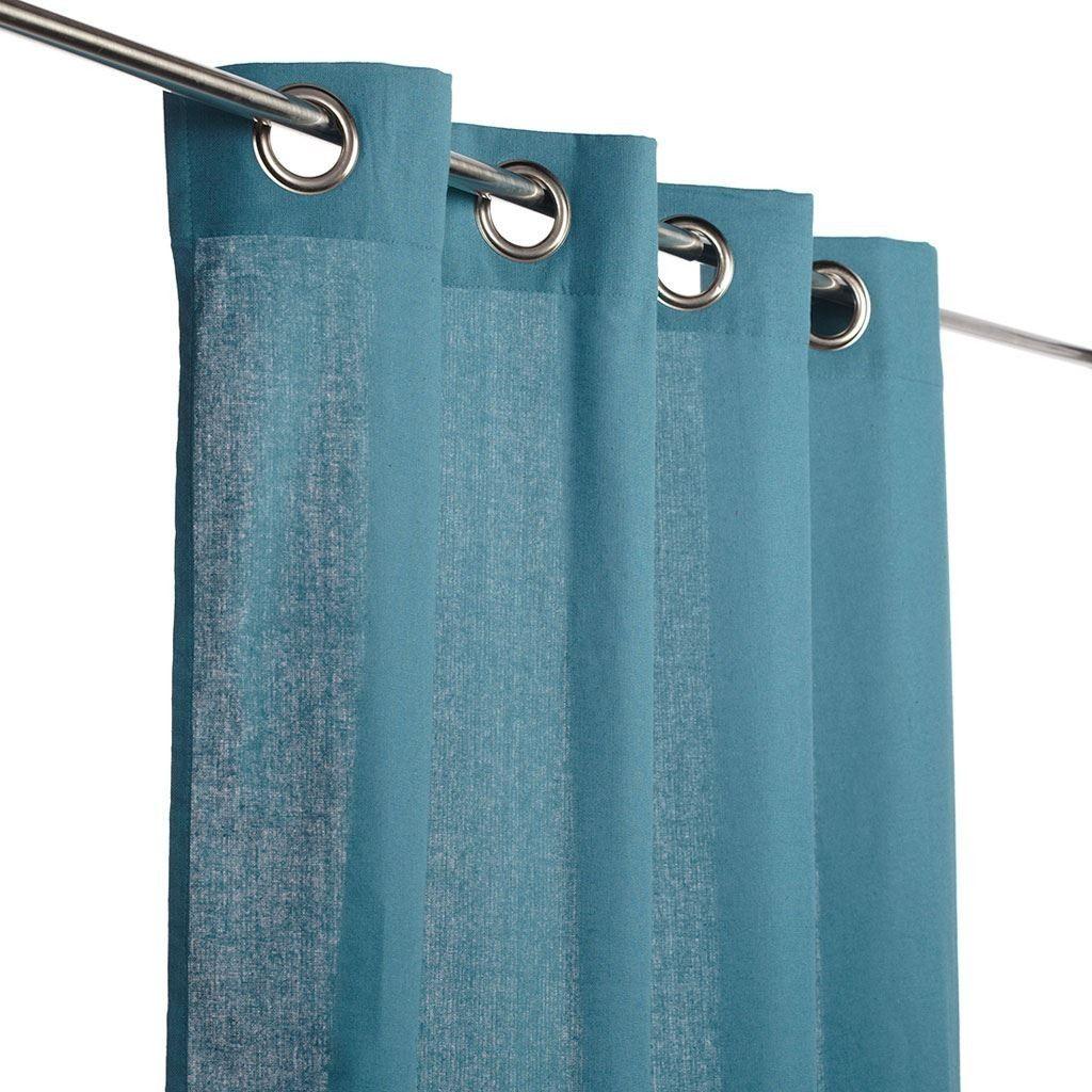 Rideau coton demi-natté - Rideaux prêt à poser - MAISON Mondial Tissus c042411b9f7b