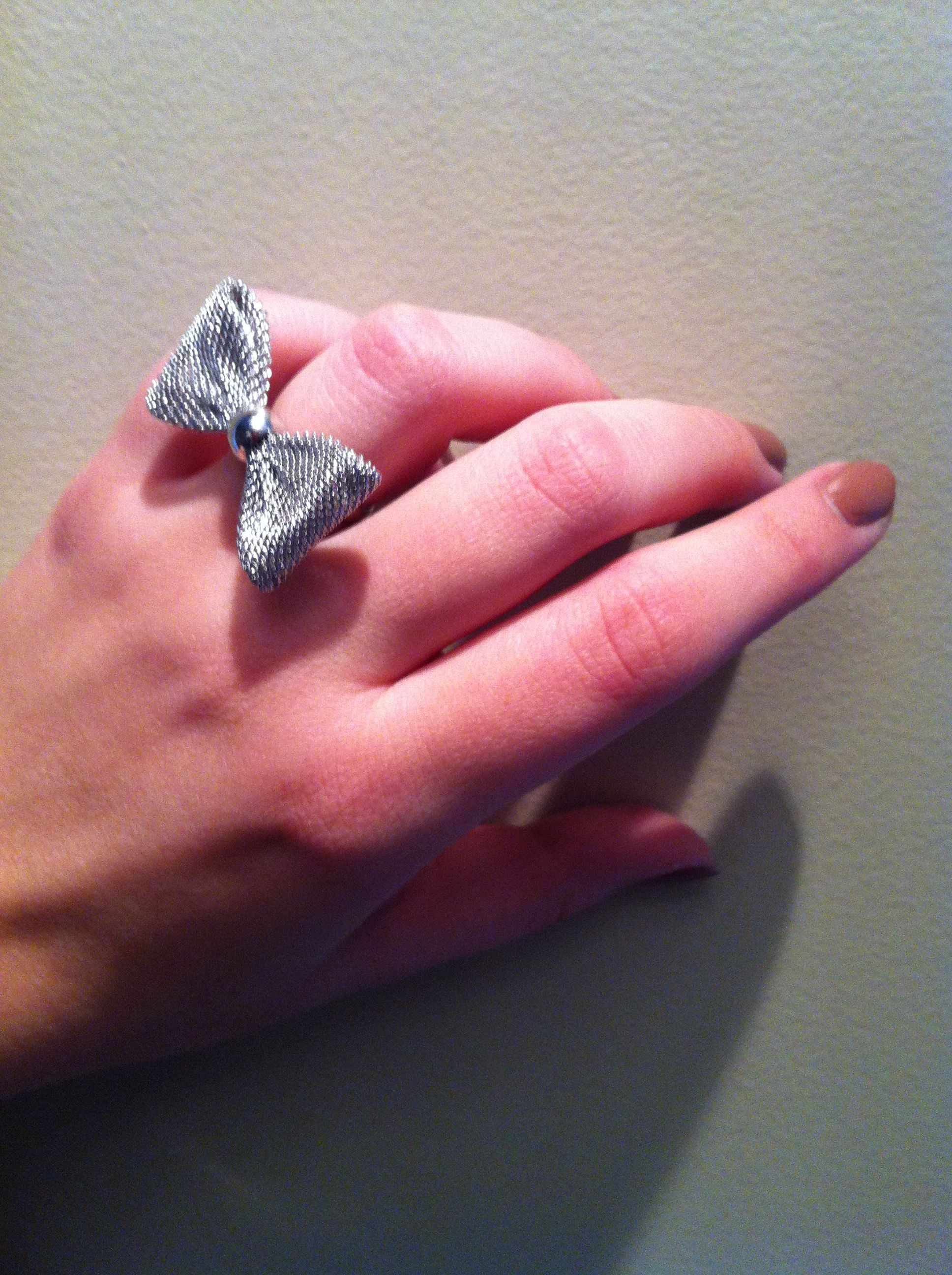 My ring now