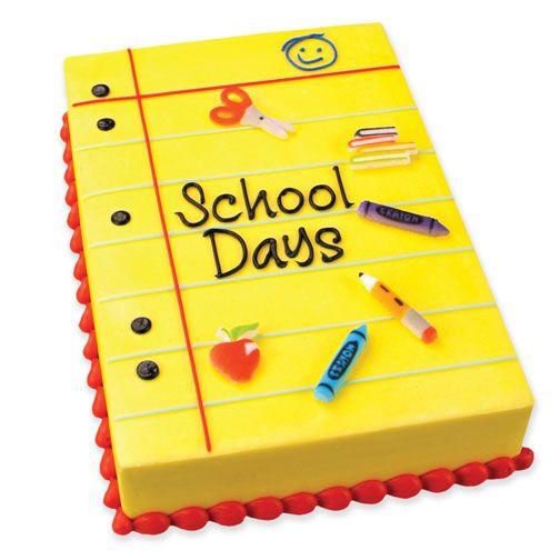 Cake Design For School : Cakes - School & graduation on Pinterest School Cake ...
