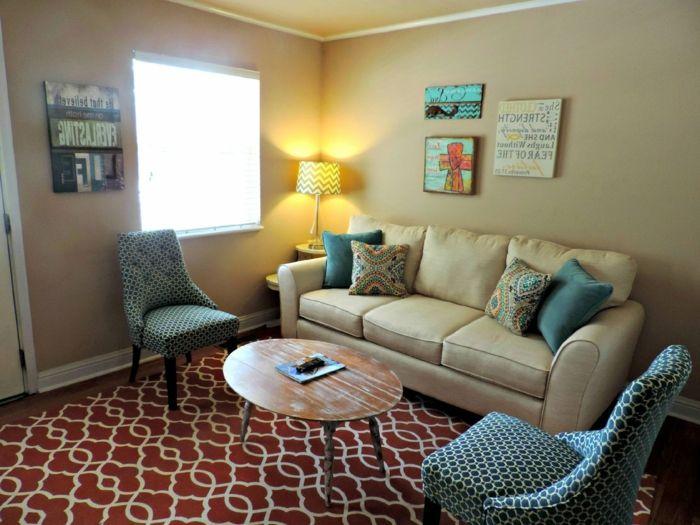 ▷ 1001 + Wohnideen Wohnzimmer zur Inspiration - schöne wanduhren wohnzimmer