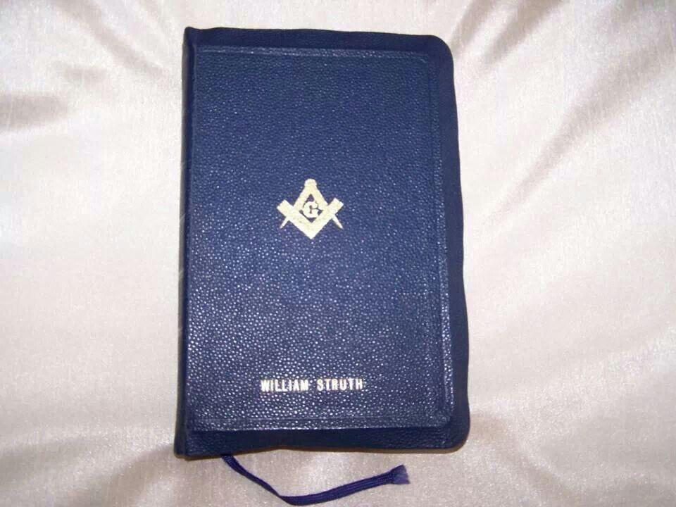 Mr Struth Passport holder, Masonic, Holder