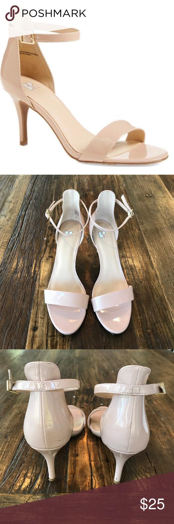 Nordstrom BP Luminate Open Toe Dress Sandal   Nordstrom