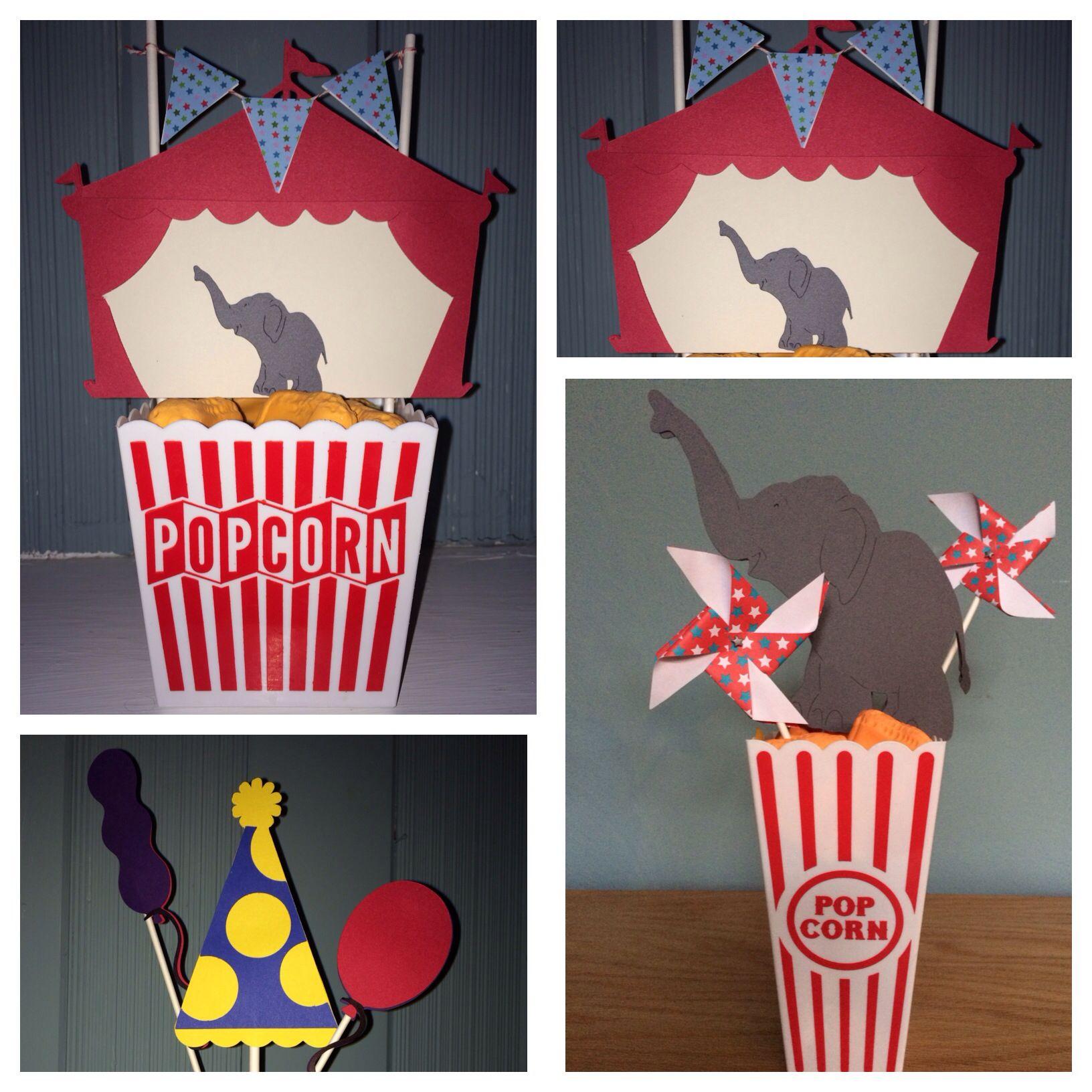 School carnival centerpieces Carnival centerpieces
