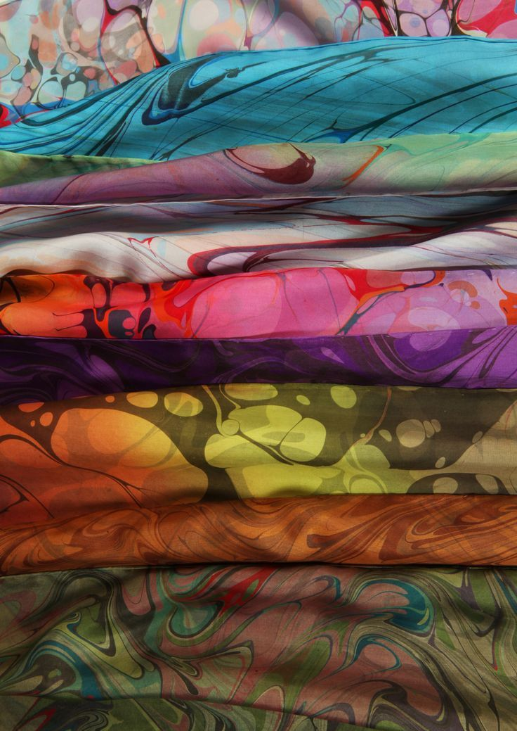 Silk Scarves by Color Vibe Designs