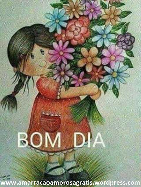 Bom dia!!! | Lindas mensagens de carinho, Frases e mensagens, Bom dia com  flores