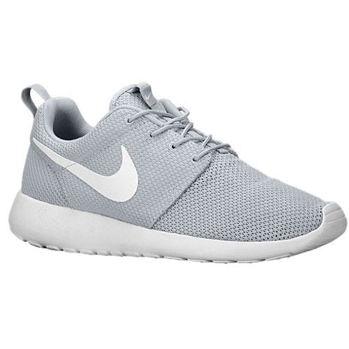 Hot Nike Men's Roshe One Running Shoes Wolf Grey/White Size 10 D