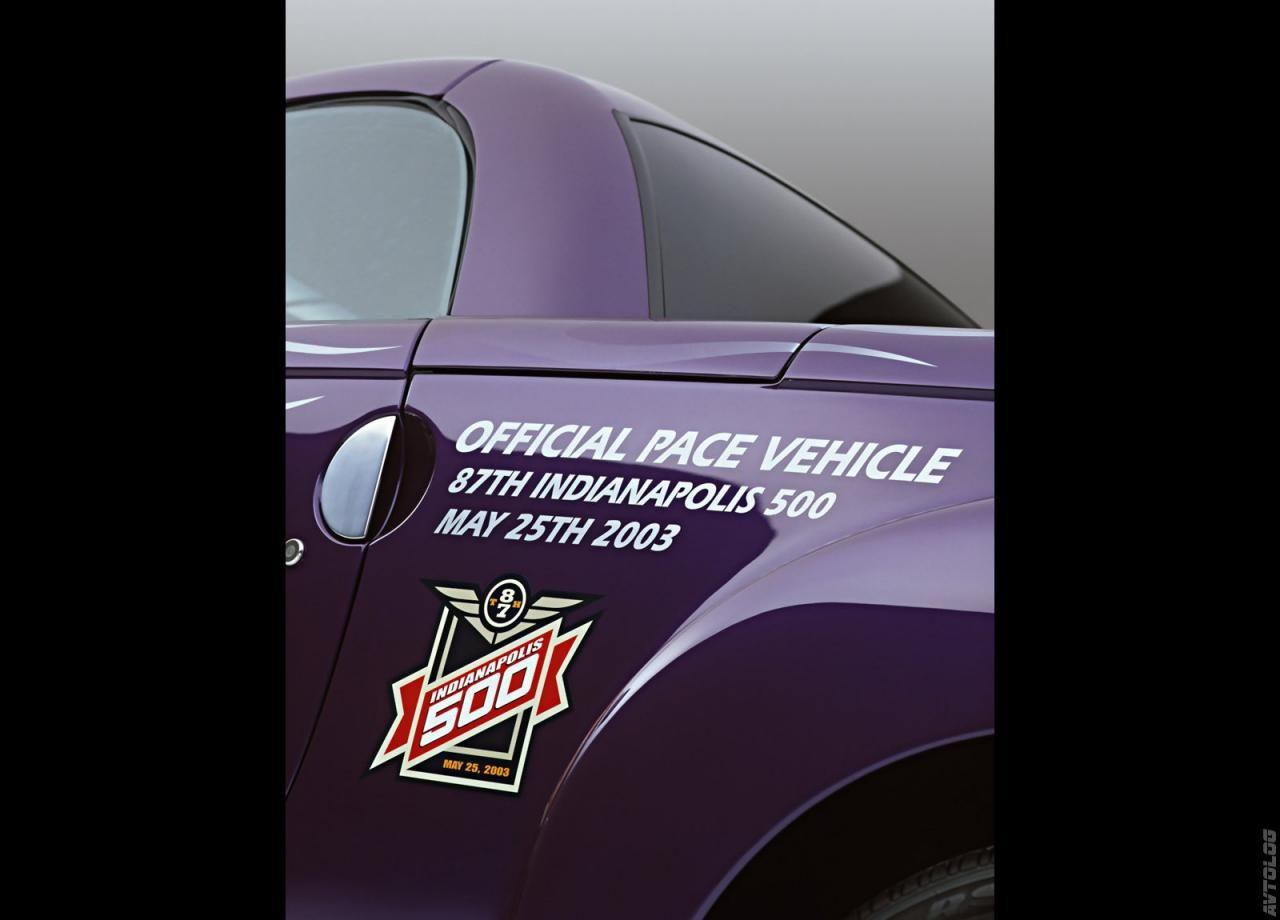 2003 Chevrolet Ssr Indy 500 Pace Vehicle Press Reliz Fotografii Galereya