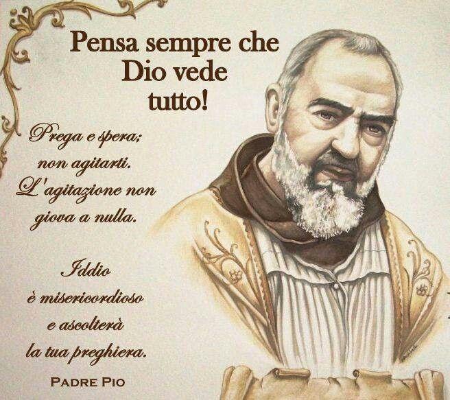 Immagini Di Padre Pio Con Frasi