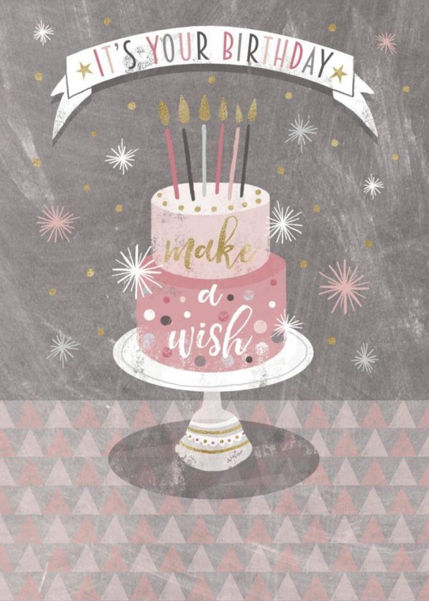 Cake Stand Happy Birthday