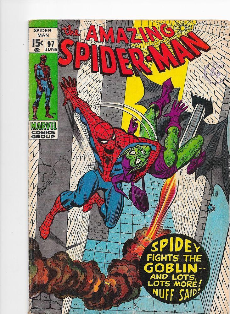 Amazing Spider-Man #97 Bronze Age Marvel Comics VG+