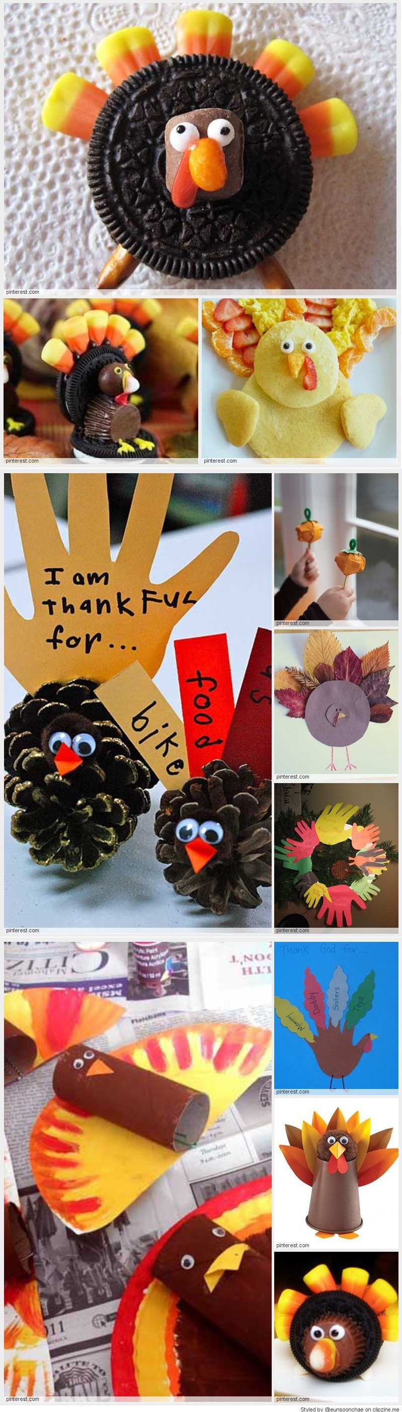 Thanksgiving crafts for kids ideas