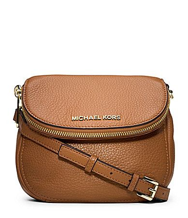 MICHAEL Michael Kors Bedford Flap Cross-Body Bag | Dillards.com Brown or  black