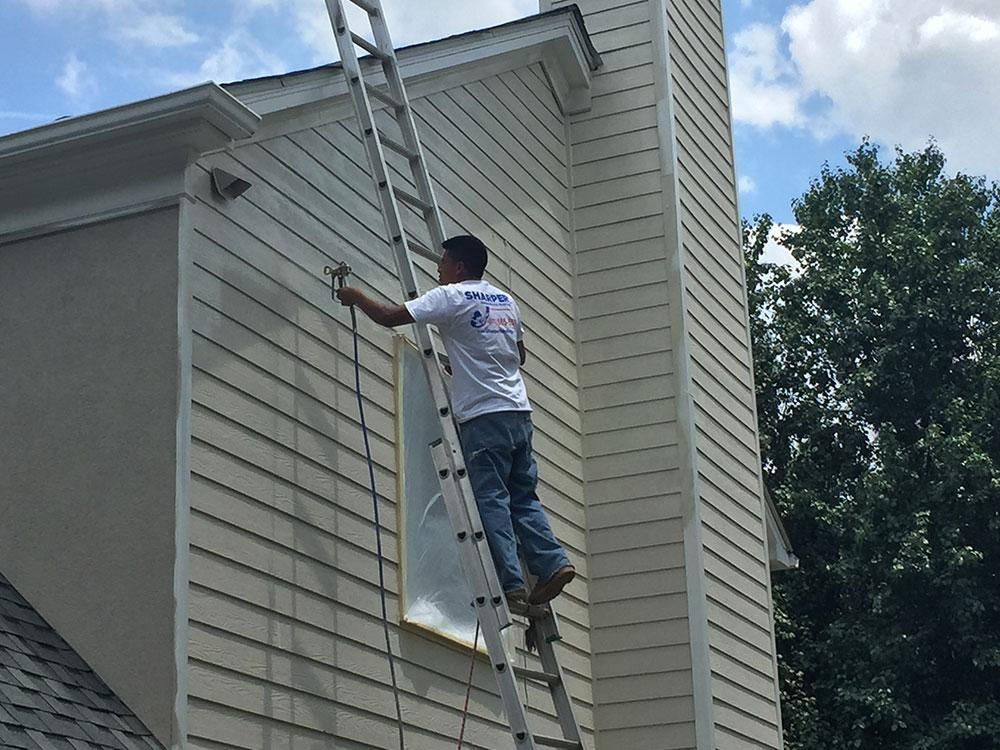 Painting Hardie Plank Siding Is A Great Way To Refresh Update And Maintain The Exterior Of Your Home With The R In 2020 Hardy Plank Siding Siding Paint Cement Siding