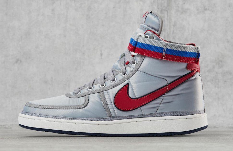 Nike Vandal High OG 'Metallic Silver' Returns - EU Kicks: Sneaker Magazine