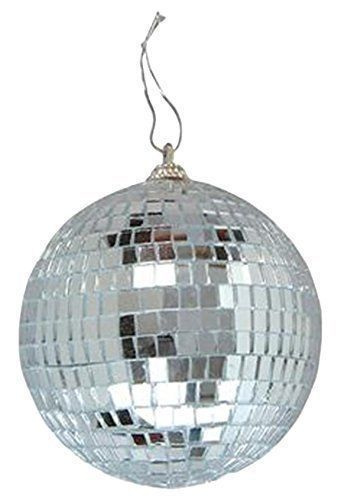 $6.76 - Miniature 4 Inch Small Disco Mirror Ball Retro Vintage Party ...
