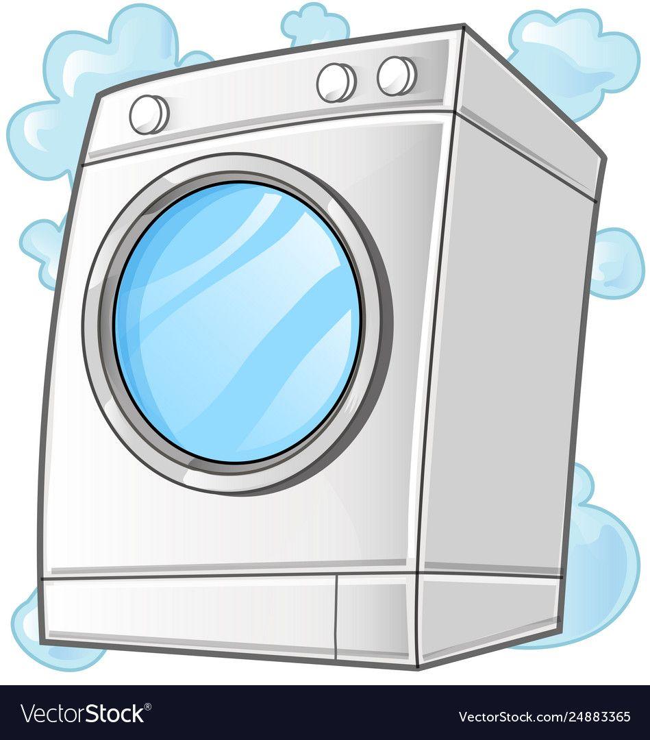Washing Machine Clip Art Royalty Free Vector Image Washing Machine Laundry Clip Art