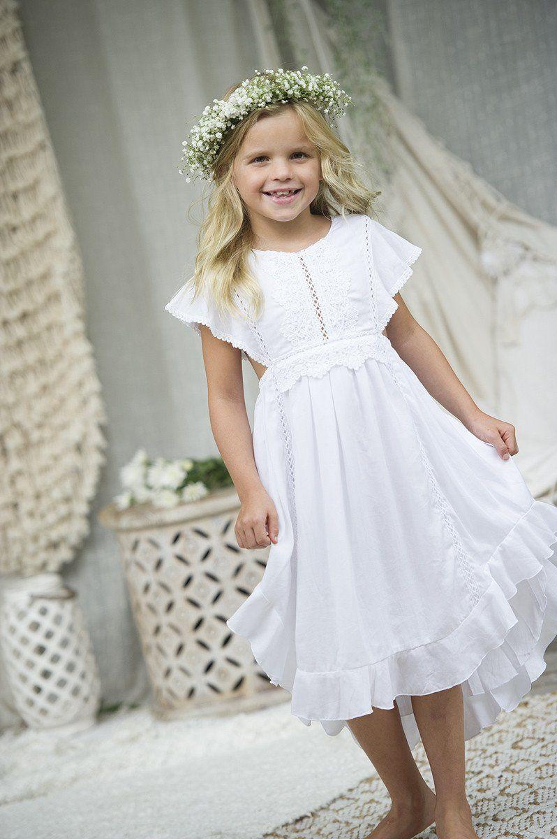 boho flower girl dresses australia