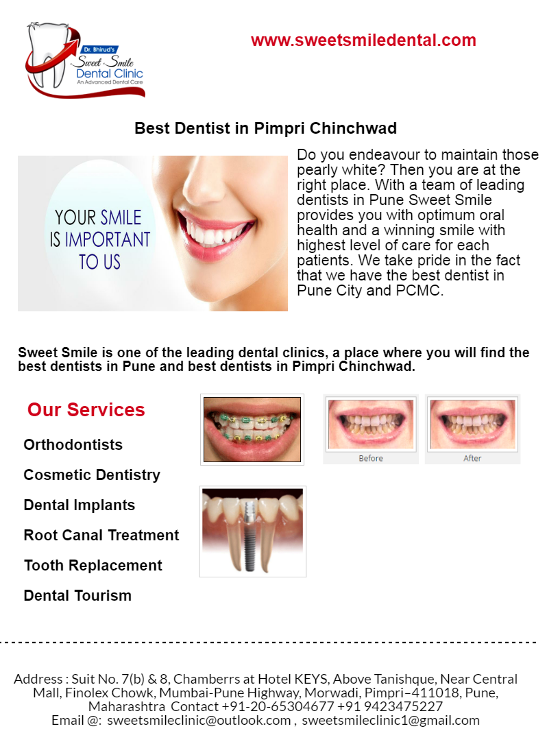 Dentist In Pune Chinchwad Smile Dental Dental Treatment