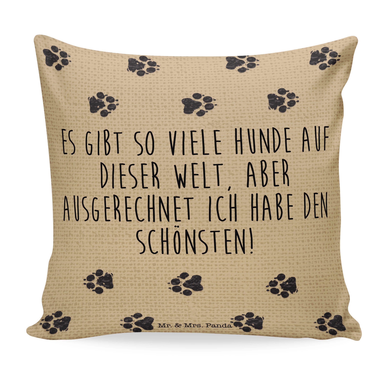 Kissen 40x40 Mein Hund Und Ich Aus Soft Feel Kissenbezug Flauschig