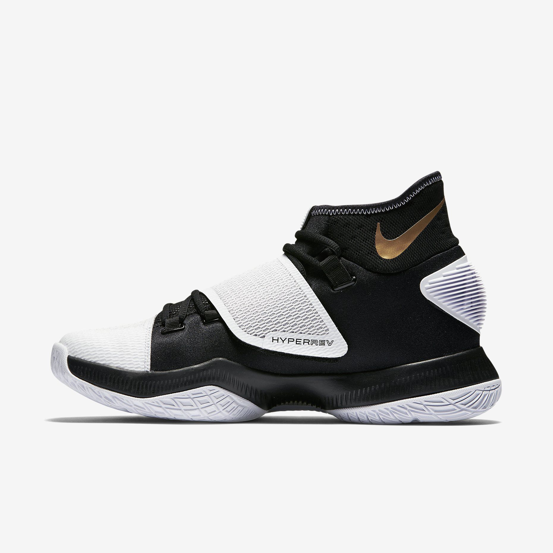 Nike Zoom Hyperrev 2016 (Black/White/Metallic Gold)