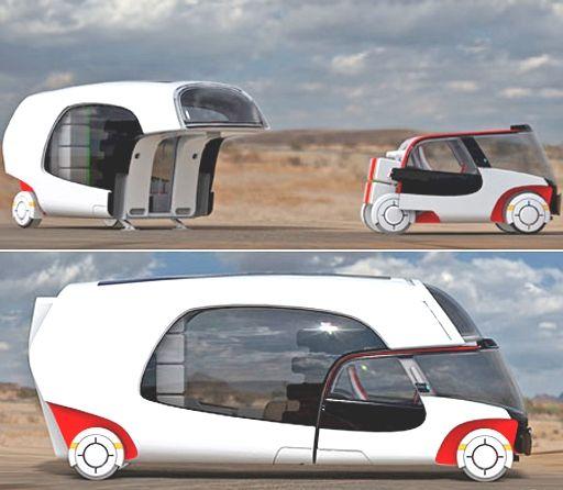 campervan r tro futur v hicules pinterest caravane voitures et. Black Bedroom Furniture Sets. Home Design Ideas