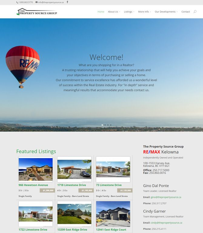 Real Estate Website Themes - Theme 3