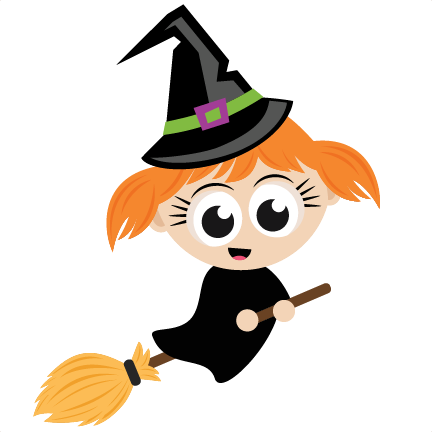 halloween witch svg scrapbook cut file cute clipart files for rh pinterest com cute little witch clipart cute halloween witch clipart