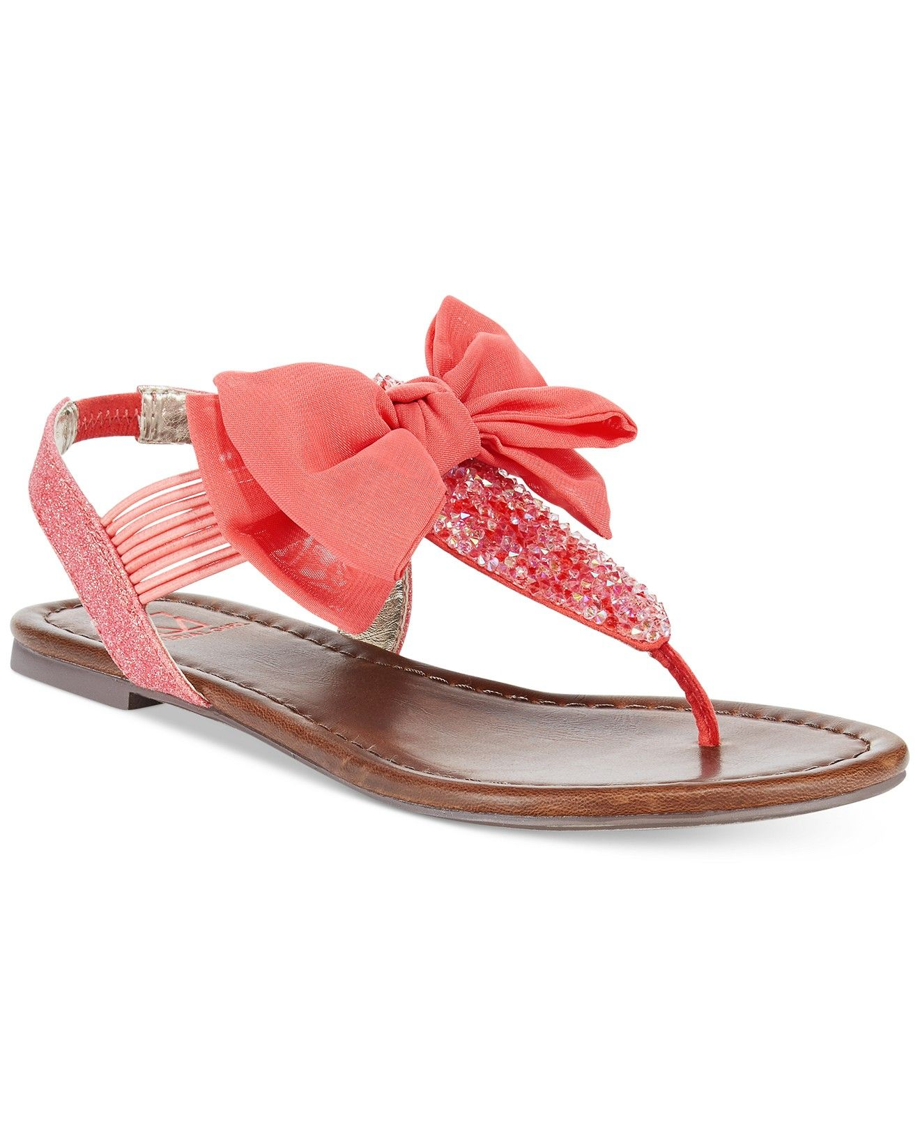 Sandals shoes sale - Material Girl Swan Flat Thong Sandals Sale Clearance Shoes Macy S